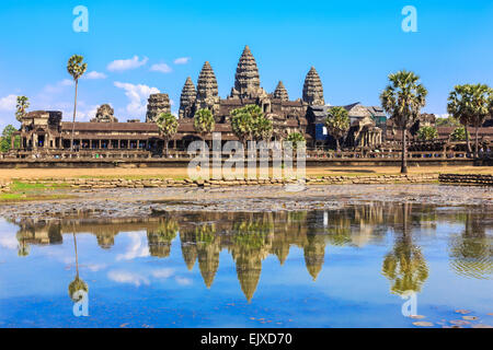 Angkor Wat. Siem Reap, Cambodia - Stock Photo