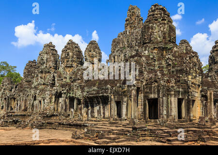 Bayon Temple. Siem Reap, Cambodia - Stock Photo