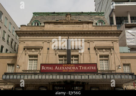 Royal Alexandra Theatre on King Street in downtown Toronto. Over 100 years old - Stock Photo