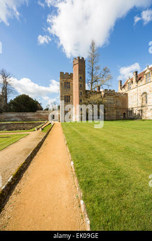 Penshurst Place, a 14th century country house, the seat of the Sidney family, near Tonbridge, Kent, UK - Stock Photo