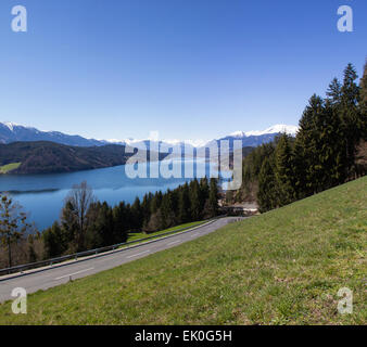 View To Lake Millstatt In Spring - Stock Photo