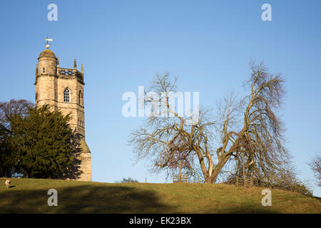 Culloden Tower, Richmond, North Yorkshire. - Stock Photo