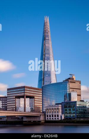 The Shard and London Bridge Quarter, London, England - Stock Photo