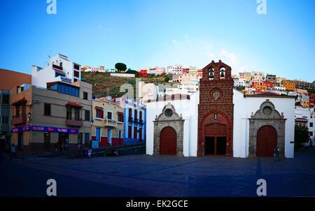 Church of Nuestra Senora de la Asuncion San Sebastian de la Gomera Tenerife island Canary islands Spain - Stock Photo