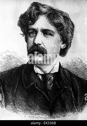 a biography of mark twain the american author American author william faulkner called twain the father of american literature   [1870-71] mark twain's burlesque autobiography and first romance [1871].