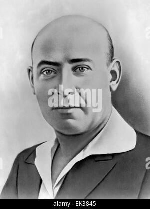 Ernst Thalmann 1886—1944, leader of the Communist Party of Germany KPD. - Stock Photo