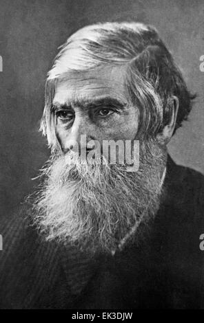Russian psychiatrist Vladimir Bekhterev 1857-1927. Reproduction. - Stock Photo