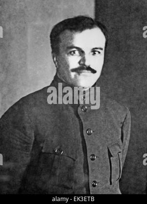 Soviet politician and diplomat Vyacheslav Mikhailovich Molotov. - Stock Photo