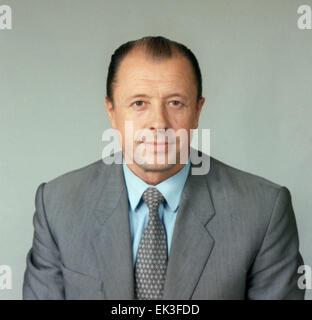 Moscow. Mayor General of KGB Vladimir Medvedev. - Stock Photo