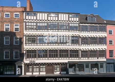 Bessie Surtees house Newcastle upon Tyne quayside, north east  England, UK - Stock Photo