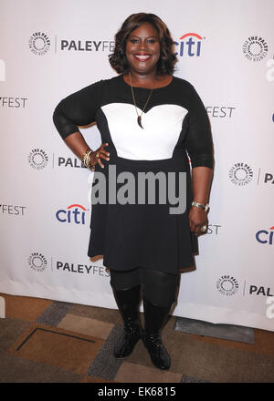 The 2014 PaleyFest 'Parks And Recreation' event at The Dolby Theatre on March 18, 2014 in Hollywood, California. - Stock Photo