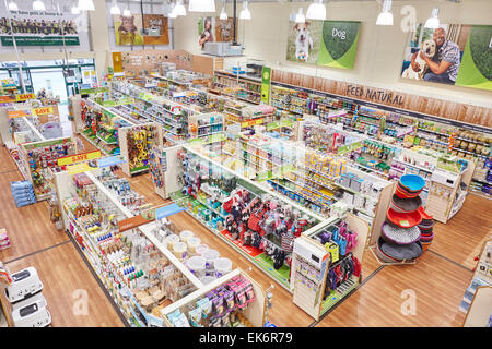 Pets at home interior store space stock photo