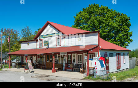 Michigan, Traverse City, Old Mission General Store - Stock Photo