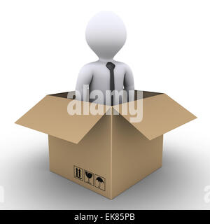 New businessman arrived - Stock Photo