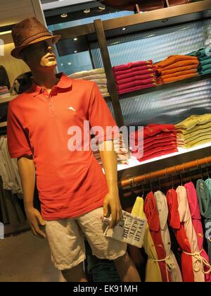 Bahamian clothing store