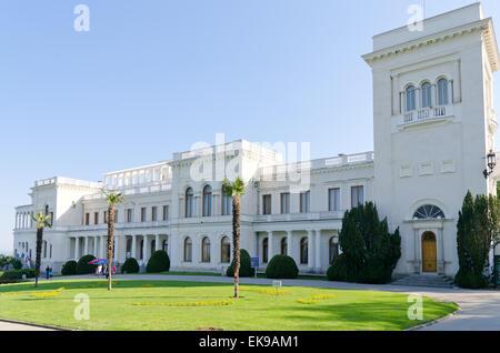 Livadia palace, Crimea, Ukraine - Stock Photo