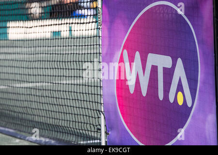 Charleston, SC, USA. 8th Apr, 2015. Charleston, SC - Apr 08, 2015: The Family Circle Tennis Center plays host to - Stock Photo