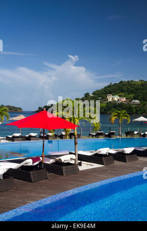 Buccament Bay Resort St Vincent And The Grenadines Caribbean West Stock Photo Royalty Free