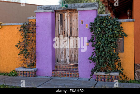 Tucson Home Entrance - Stock Photo