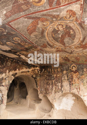 St. Georges Church (Kirk Dam Alti Kilise), Belisirma, Ihlara, western Cappadocia, Anatolia, Turkey, Asia Minor, - Stock Photo