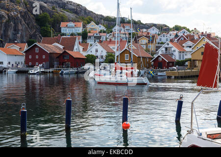 Fjallbacka, Bohuslan region, west coast, Sweden, Scandinavia, Europe - Stock Photo