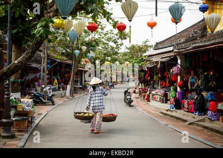 Street scene, Hoi An, Vietnam, Indochina, Southeast Asia, Asia - Stock Photo