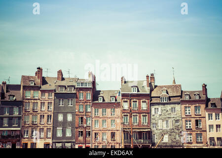 Honfleur Town, Normandy France - Stock Photo