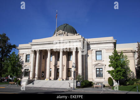 Washoe County Courthouse in Reno, Nevada, USA - Stock Photo