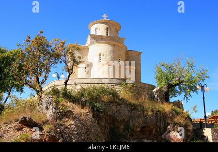 Lower Church of Ostrog Monastery, Montenegro, Balkans - Stock Photo