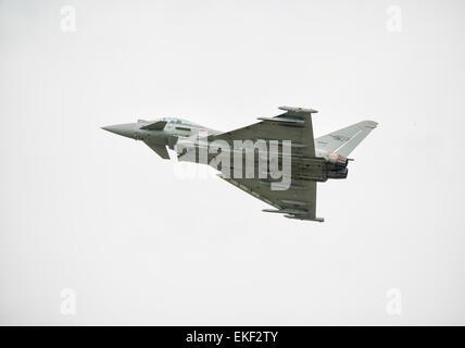 Italian Air Force Eurofighter Typhoon T2000 - Stock Photo