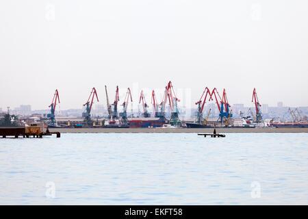 Oil Drilling In Baku - Stock Photo