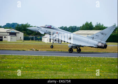 italian Air Force Typhoon F-2000A Eurofighter - Stock Photo