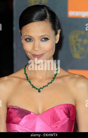 13.FEBRUARY.2011. LONDON  THANDIE NEWTON AT THE ORANGE BRITISH ACADEMY FILM AWARDS AT THE ROYAL OPERA HOUSE IN CENTRAL - Stock Photo