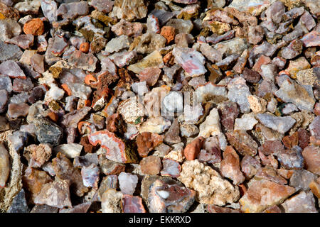 Geodes are geological secondary sedimentary structures which occur in sedimentary and certain volcanic rocks. Geodes - Stock Photo