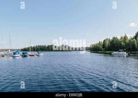 Lake Siljan in Mora, Dalarna County, Sweden - Stock Photo