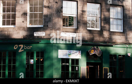 Australian themed bar in Edinburgh. - Stock Photo