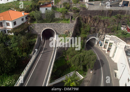 Typical tunnel entrances Madeira number 3513 - Stock Photo