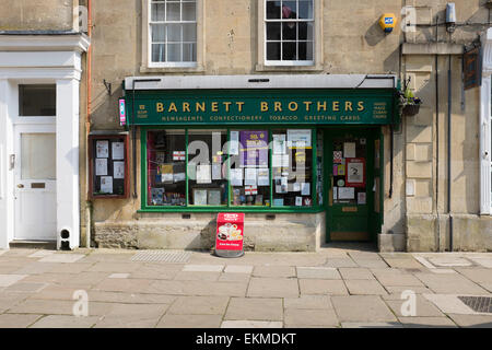 Barnett Brothers High Street Corsham in Wiltshire - Stock Photo