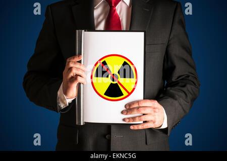 no atomic power - Stock Photo