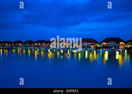 Water villas - Stock Photo