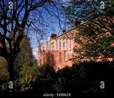 Georgian Terraces, Raglan Road, Dublin City, Ireland - Stock Photo