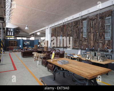 High Quality Cargo, Furniture And Kitchen Store, Via Meucci Street, Milan, Lombardy,  Italy