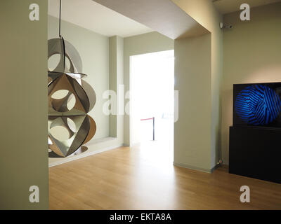 Bruno Munari artist, The Museo del Novecento, Museum of the Twentieth Century, Arengario palace, Milan, Lombardy, - Stock Photo