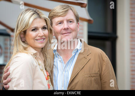 19.JULY.2013. LONDON  KING WILLEM-ALEXANDER OF THE NETHERLANDS, QUEEN MAXIMA OF THE NETHERLANDS, CROWN PRINCESS - Stock Photo
