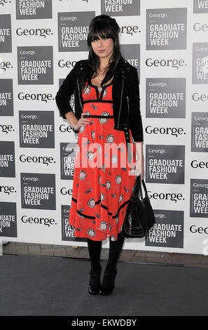 13.JUNE.2012. LONDON  DAISY LOWE, BIP LING, JEFFERSON HACK AND LOUISE REDKNAPP ATTEND THE GRADUATE FASHION WEEK - Stock Photo