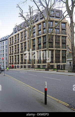 St Dunstans House. A new development of luxury apartments on Fetter Lane in the City of London. - Stock Photo
