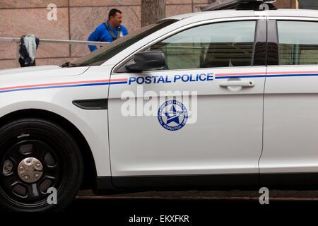 US Postal police car - Washington, DC USA - Stock Photo