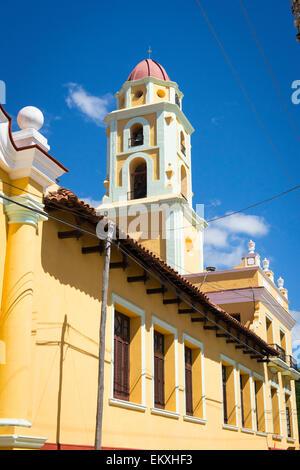 Cuba Trinidad Iglesia y Convento de San Francisco Church convent Monastery Saint Francis Museo de la Lucha contra - Stock Photo