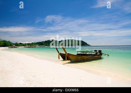 Beautiful beach on Koh Lipe, Andaman Sea,Thailand - Stock Photo