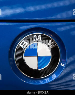 Detail of the BMW car - Stock Photo
